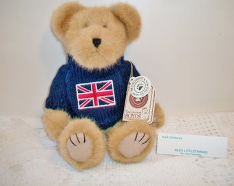 TJs Best Dressed Collection Union T Jack The Boyds Bear Brown Teddy Stuffed Animal Toy British England