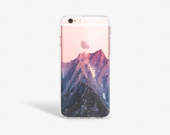 Mountain iPhone 7 Case Clear iPhone SE Case Clear Mountain iPhone Case iPhone 7 Plus Case iPhone 5 Case Samsung Galaxy S7 Case Clear