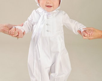 Michael Baby Boy's Christening, Baptism or LDS Blessing Outfit