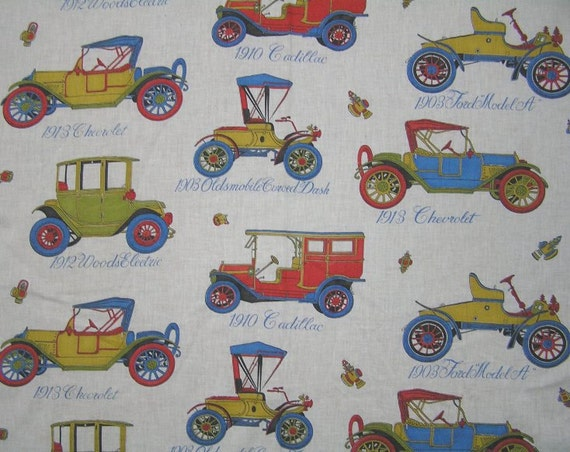 1950s vintage or earlier early 1900s car fabric 35 in wide for Fabric by the yard near me