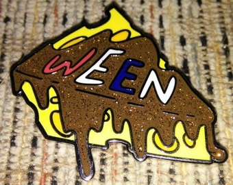 Ween Chocolate & Cheese Pin