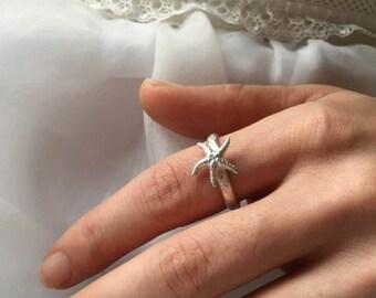 Starfish stacking ring