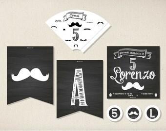 Moustache Party kit
