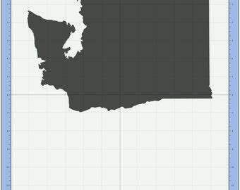 Washington State SVG cutting file