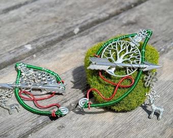 Huntress Elf Ear Cuffs