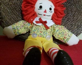 Raggedy Andy 10 Inch Doll  B5
