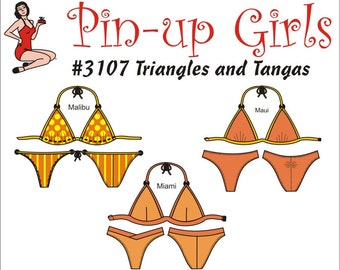 Triangles and Tangas  by Pin Up Girls