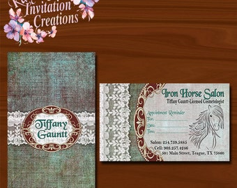 Rustic Chic Business Cards