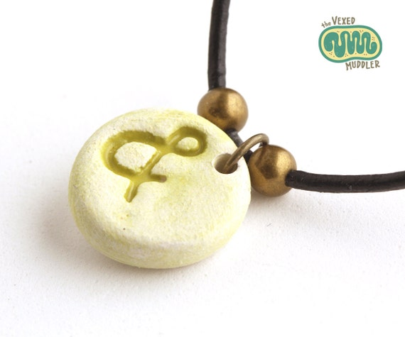 Ampersand pendant necklace, grammar jewellery, gift for programmer or lingust, and symbol,