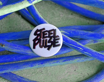 Steel Pulse - Pinback or Magnet Button