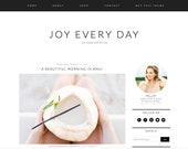 Joy Every Day Premade Blogger Template - Blogger Theme - Responsive Blogger Template - Minimalist Template - Lifestyle Photographer