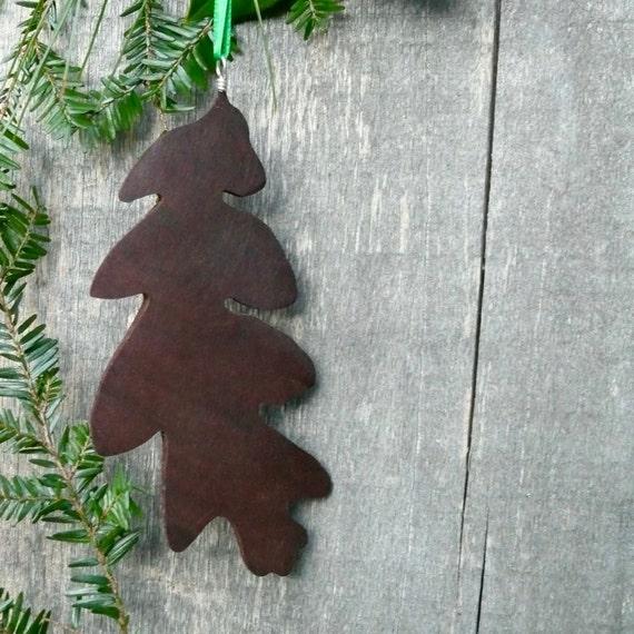 Natural Christmas Tree Ornaments, Natural wood Holiday Decor, Wooden Christmas Ornament, Eco Christmas, Nature Christmas Ornament
