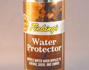 Water Stain PROTECTOR Aerosol Spray Waterproof Protect suede nubuck leather Shoe Boot protection Fiebings 5.5 oz Fiebing's  WATR00A005Z