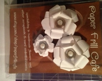 Paper Flower Embellishments