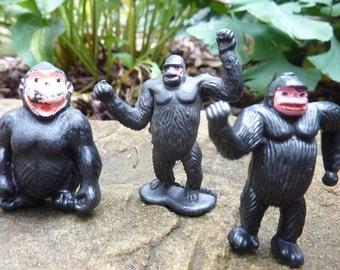 Gorilla figurines etsy - Gorilla figurines ...
