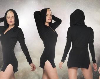 Bastet hood dress