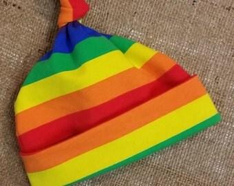 Rainbow Baby Knot Hat Baby Beanie Baby Headband Baby Gift