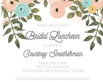 Bridal Luncheon Invitation