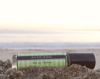 AVOCADO Perfume oil  ~ Phalate Free ~ Alcohol Free ~ save 25% on your first order, Birthday Gift, travel body spray