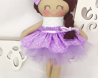 Handmade Doll, Fabric Doll, Girl Gift, Soft Doll, Plush Doll