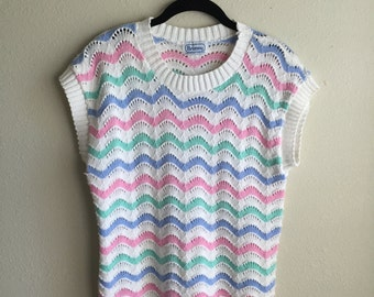 Pastel Sweater Vest