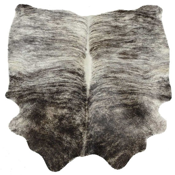 Cowhide Rug Cow Hide Leather Black And White By TheCowPelt