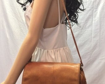 Leather Organizer Bag, purse,Brown Leather, Bags Purses, Shoulder Bag, Partners