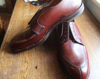 Vintage Deadstock 50s Thom McAn Bootmaster Split Toe Bluchers 12D