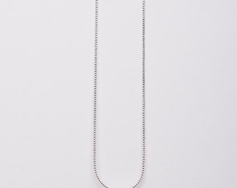 Wedding Blue Necklace~Minimalist Bling Necklace~Swarovski Crystal Necklace