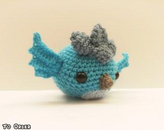 Crochet Articuno Inspired Chibi Pokemon #Team Mystic