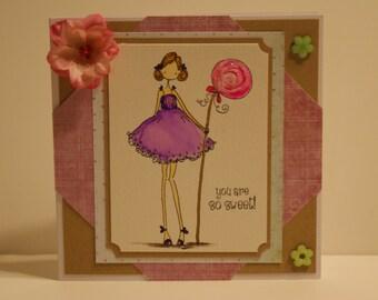 So Sweet #2 Greeting Card