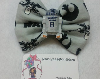 R2-D2 Hair bows