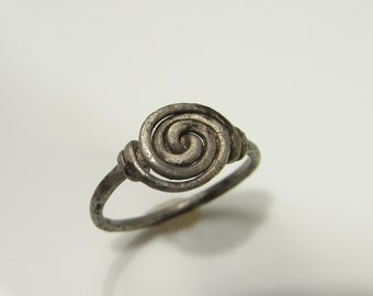 Celtic Knot Ring Celtic Ring Anglo Saxon Ring Ancient Ring Spiral Ring Knot Ring True Lovers Knot Pre- Georgian Ring Ancient Ring R3588