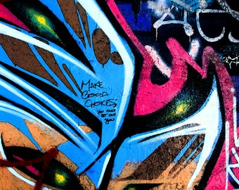 Lost In My Mind, Street Art, Graffiti, Urban Art, Abstract Photography, Urban Decay