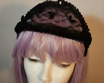 FREE  SHIPPING  1950  Mini Lace  Hat