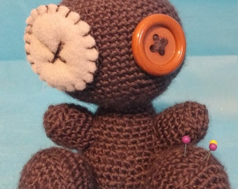 OOAK Crocheted Voodoo Doll
