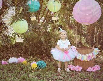 Hot Air Balloon Birthday Tutu Outfit