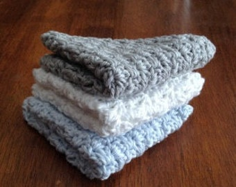 Baby Washcloths Set of 3