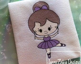 Ballet Girl 3 Sketch Embroidery Design - ballet Sketch Embroidery Design - ballerina Sketch Embroidery Design - girl Sketch Embroidery