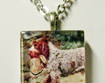 German Wirehaired Pointer pendant andchain - DGP01-021***