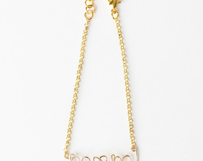 Mom Bracelet (Gold)