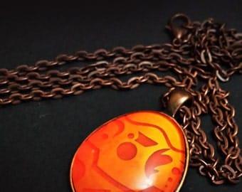 Precursor Orb Necklace - Cabochon Pendant