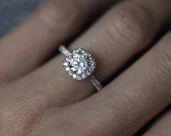 Moissanite Wedding Ring Set 59 Elegant Moissanite engagement rings philippines