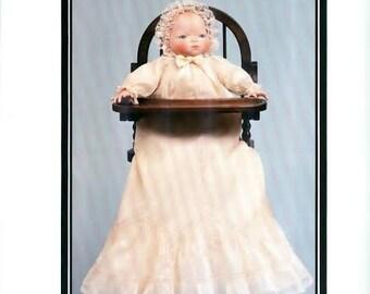 "Vintage Connie's Doll Patterns ""Bye Lo"" 12"", 15"" or 19"" - Un-Cut"