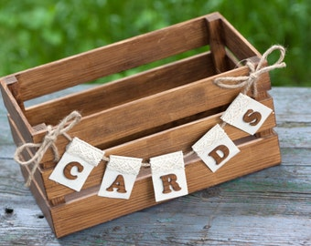 Wooden Card Box, Card Box, Wedding Card Box, Rustic Wedding Decor, Rustic Card Box, Gift Card Box, Gift Card Holder, Rustic Wedding Box