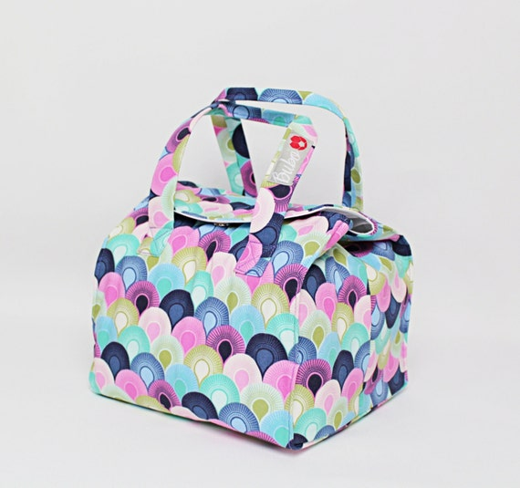 insulated lunch bag bento box reusable lunch carriernew. Black Bedroom Furniture Sets. Home Design Ideas