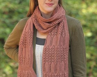Knitting Pattern PDF - Castilleja Scarf