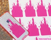 "Pink Castle Decal [2.2 by 3.6""]"