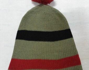 Vintage Burton Acrylic Beanie Snow Cap Ski Hat Made In China