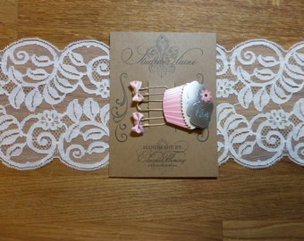 Let them Eat Cupcakes No. 2 - Planner Clips